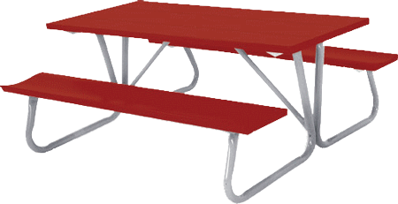 6 And 8 Foot Picnic Tables